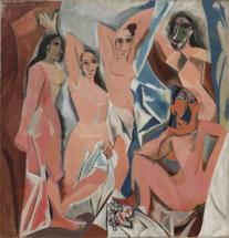 Пабло Пикассо Авиньонские девицы 1907