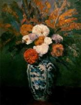 Ваза с цветами на столе