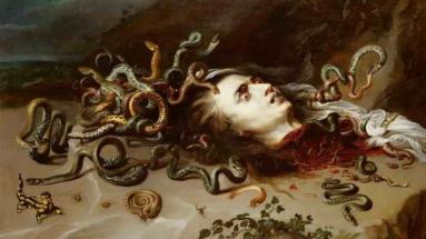 Голова медузы Горгоны