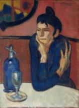 Пабло Пикассо. Любительница абсента. 1901