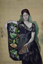 Пабло Пикассо. Портрет Ольги в кресле. 1917