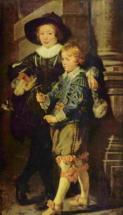 Портрет сыновей Альберта I