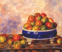 Яблоки на блюде