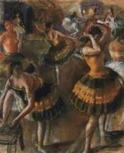 Балерины в уборной