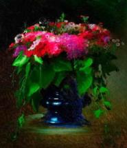 Букет цветов. Флоксы. 1884