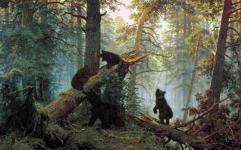 Иван Шишкин. Утро в сосновом лесу
