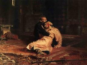 Илья Репин - Иван Грозный убивает своего сына