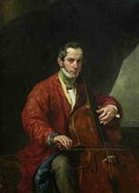 Портрет музыканта М.Виельегорского