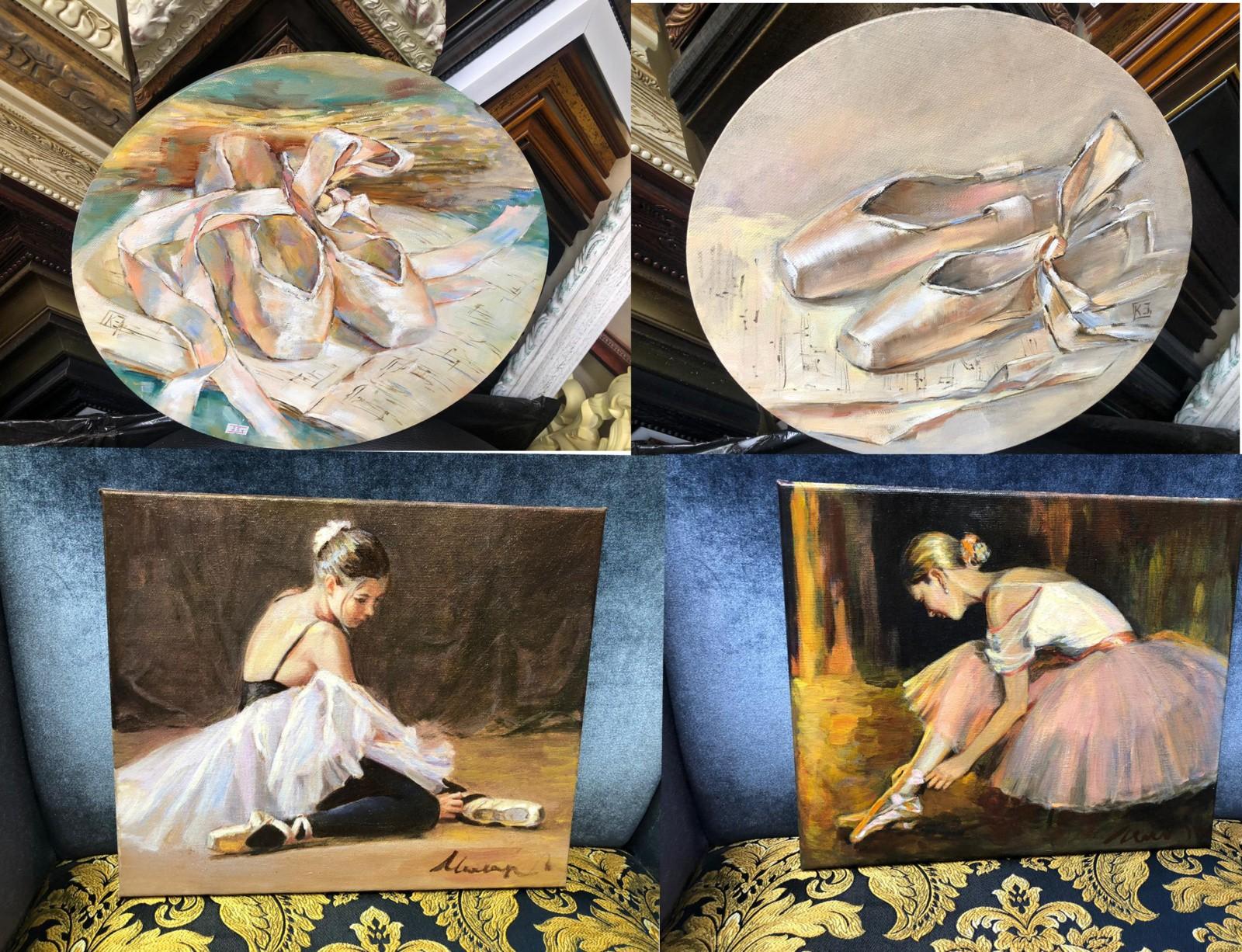 серия картин балет